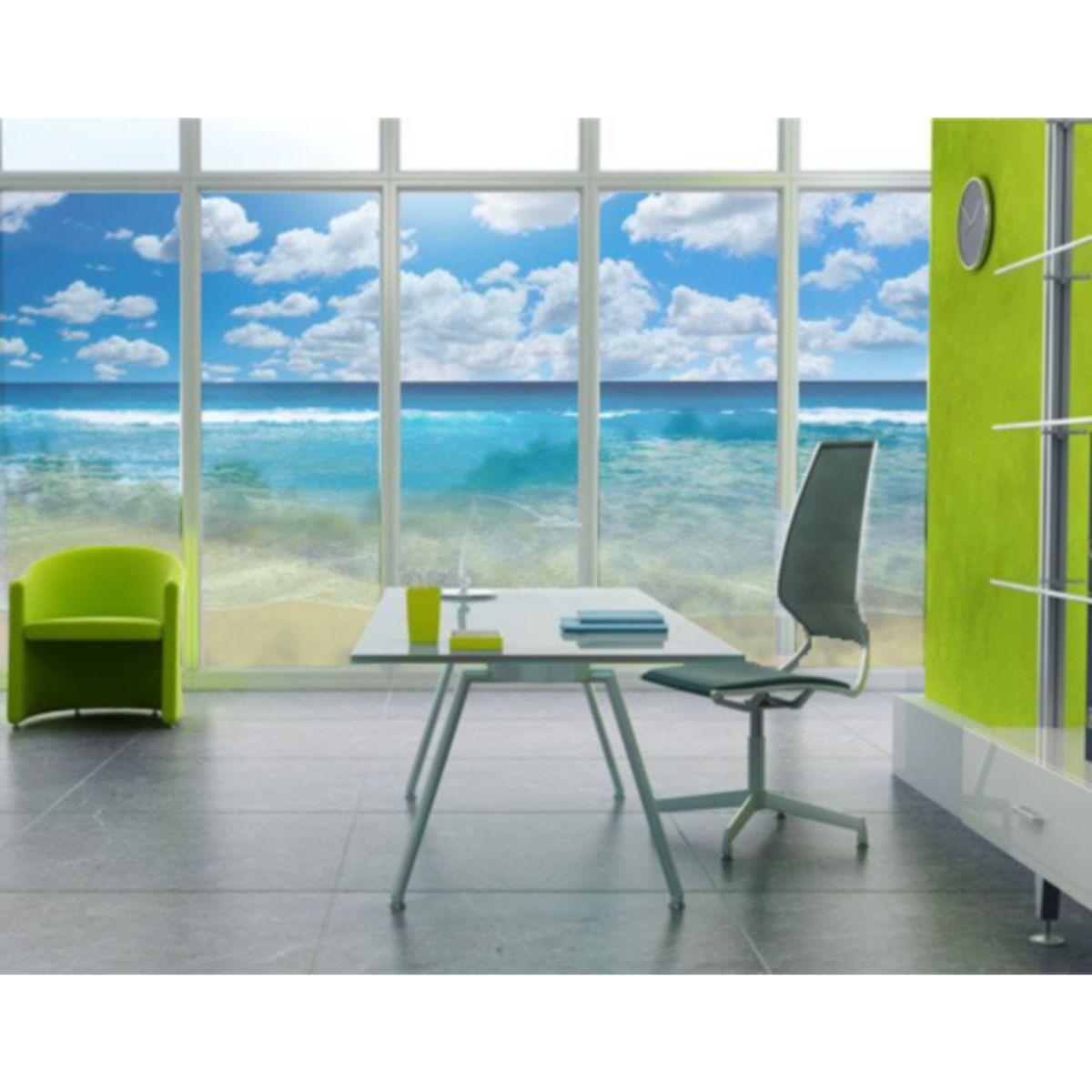 Fensterfolie - Sichtschutz Fenster Touch of Paradise II Fensterbilder