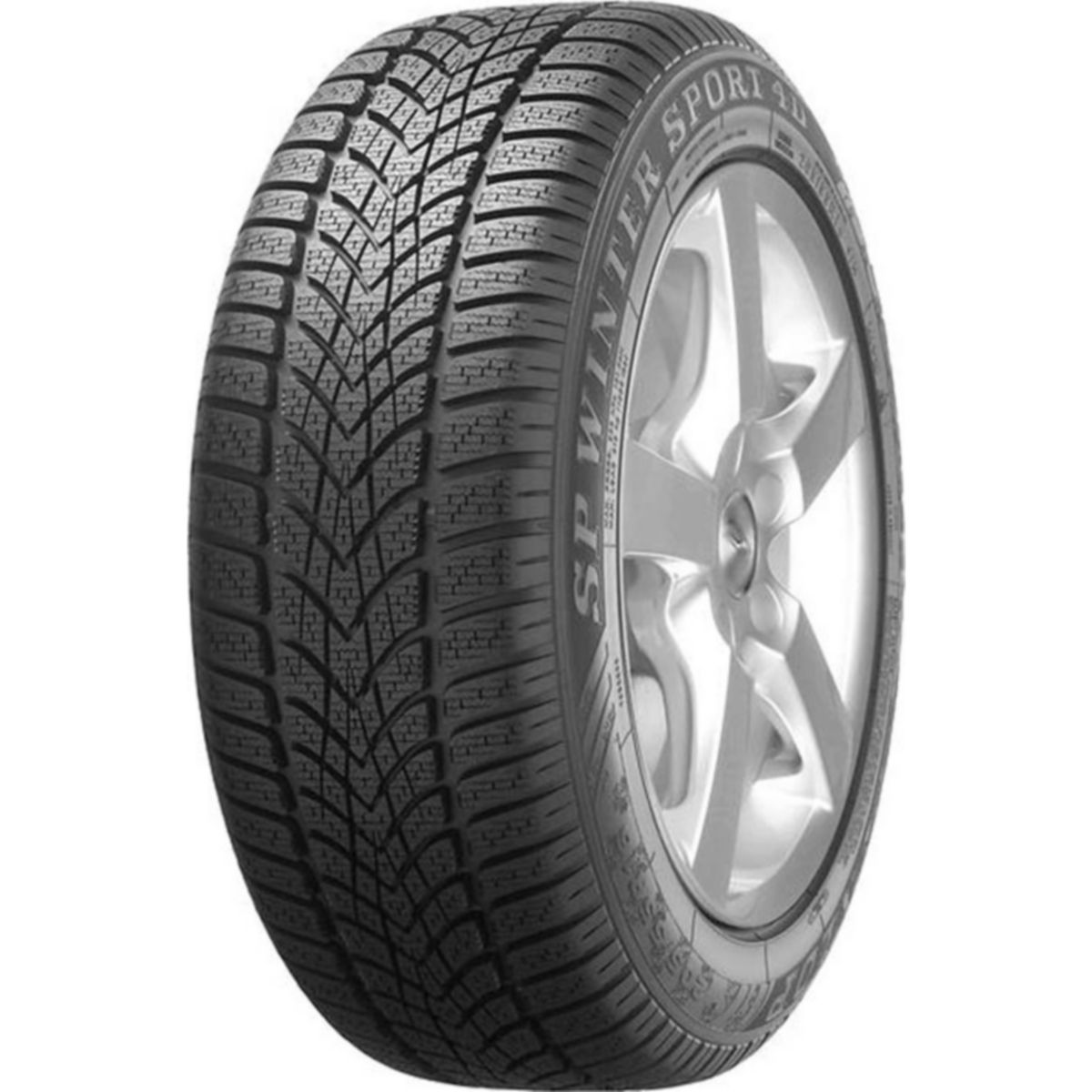 DUNLOP SP WINTER SPORT 4D 225/55R17 101H TL Winterreifen