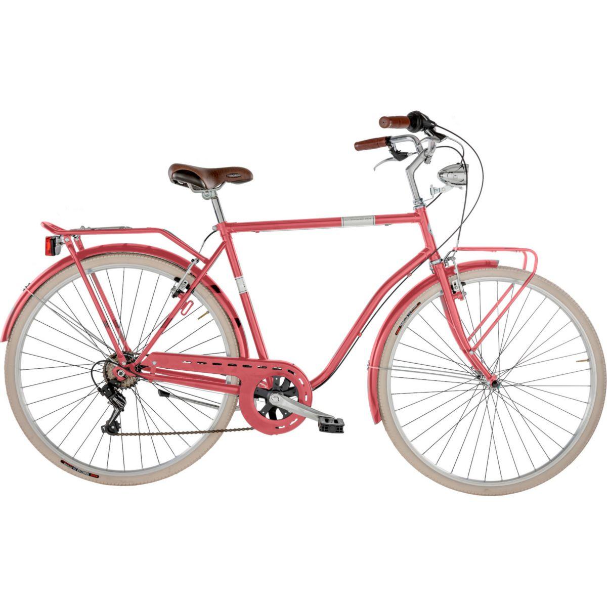 28 Zoll Herren City Fahrrad 6 Gang Alpina Viaggio Man rot
