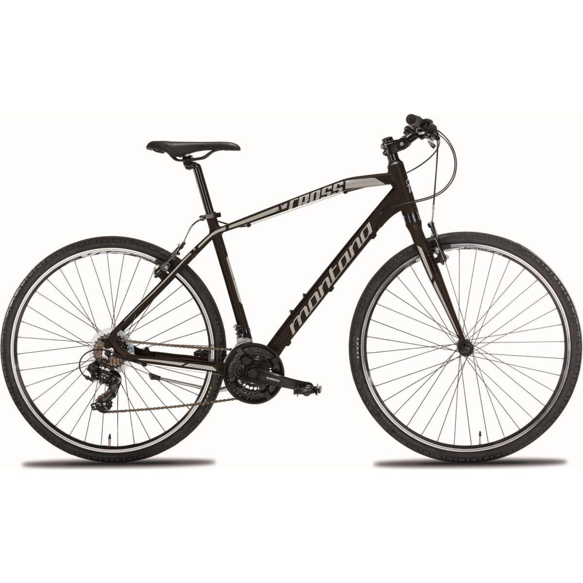 28 Zoll Montana X-Cross Herren Mountainbike Aluminium 21 Gang schwarz, 54cm jetztbilligerkaufen