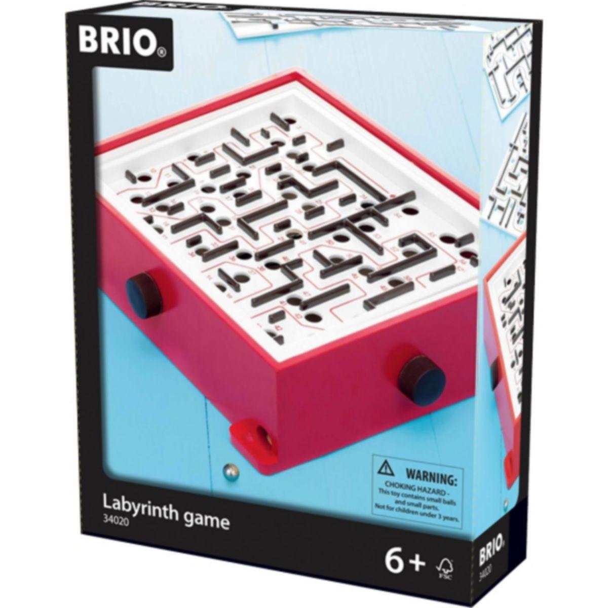BRIO 34020004 Labyrinth mit Übungsplatten