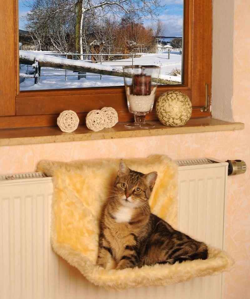 Heizkörperliege für Katzen