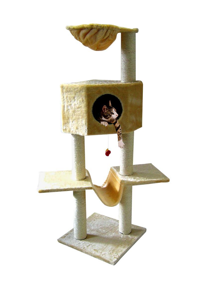 Katzen Kratzbaum ´´Klettertraum´´ mit Hängematte