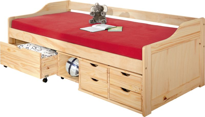 Link´s Sofabett Maxima 200x90cm farblos incl. 1 Rost