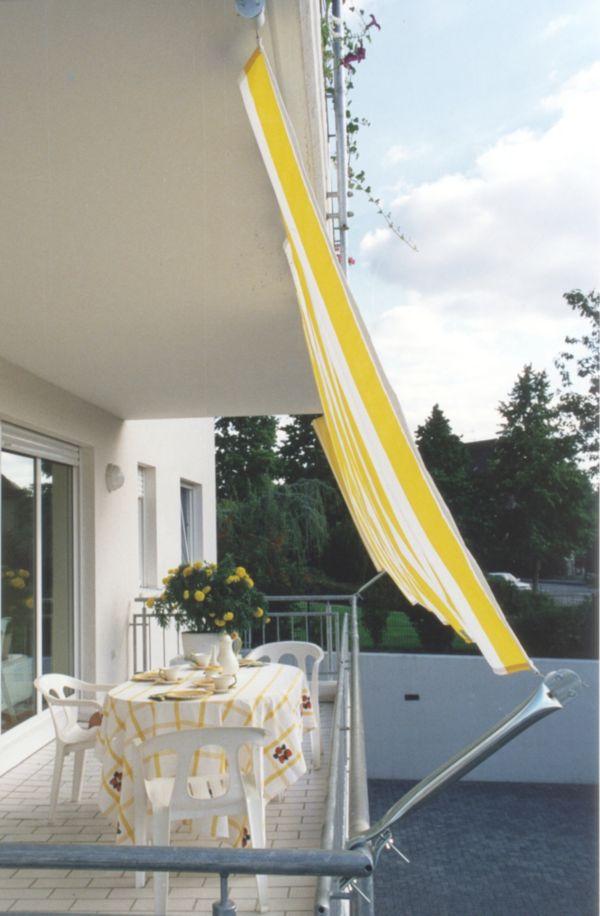 floracord seilspannmarkise sonnenschutz balkonmarkise ebay. Black Bedroom Furniture Sets. Home Design Ideas