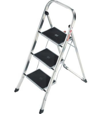 hailo k30 aluminium klapptritt 3 stufen. Black Bedroom Furniture Sets. Home Design Ideas