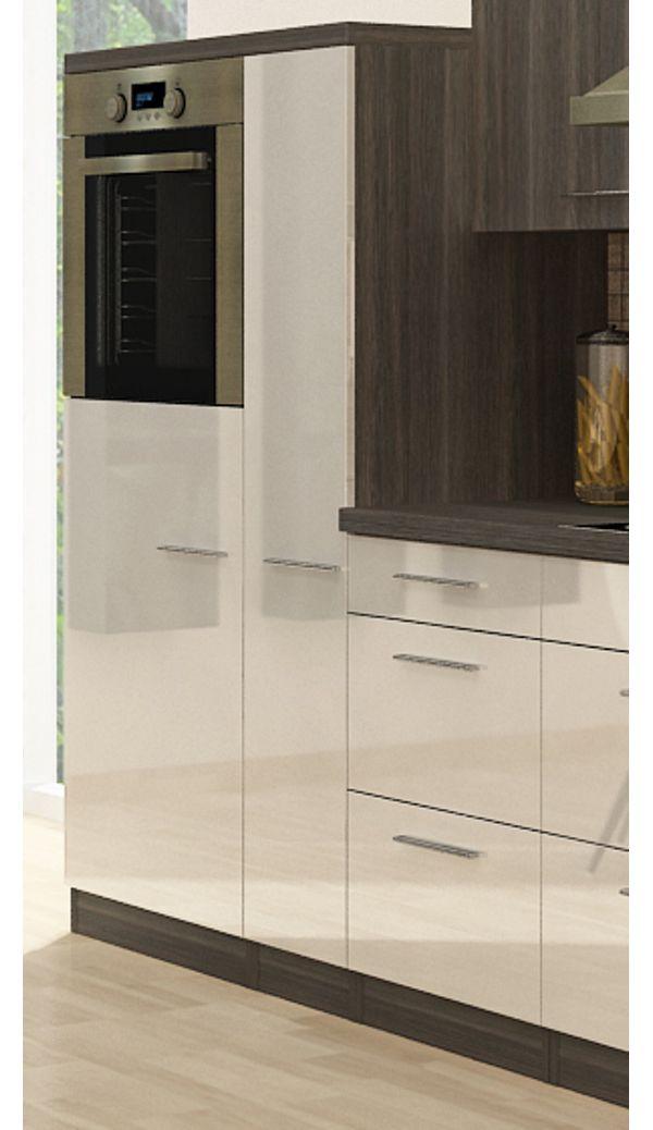 k chenzeile premium 310cm eiche grau nachb backofen oben vers farben k che ebay. Black Bedroom Furniture Sets. Home Design Ideas