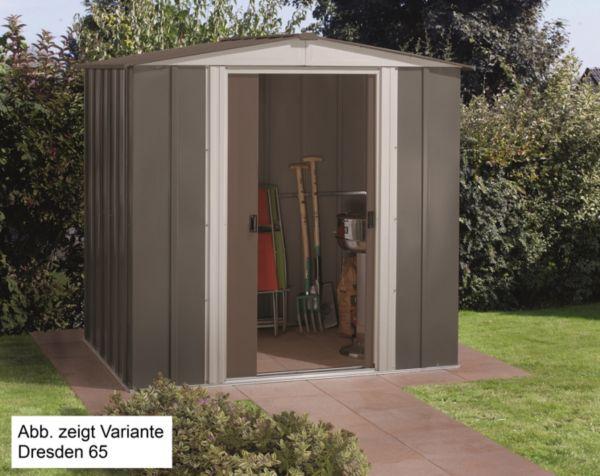vitavia metall ger tehaus dresden grau 85 86 und 108 ger teschuppen gartenhaus ebay. Black Bedroom Furniture Sets. Home Design Ideas