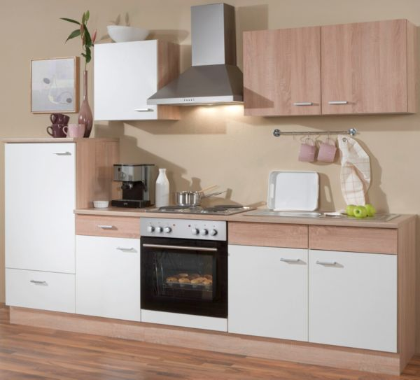 Menke kuchen kuchenzeile sonja 270 cm ohne geschirrspuler for Menke küchen