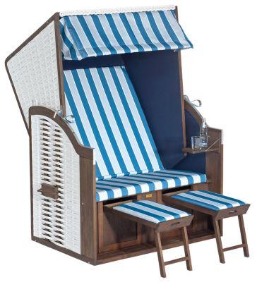 Das Gängige Zweisitzige Modell Des Strandkorbs Besteht Im Wesentlichen Aus  Vier Elementen. Dabei Haben Die Strandkörbe Der Nordsee Eine Klare, Gerade  Linie, ...