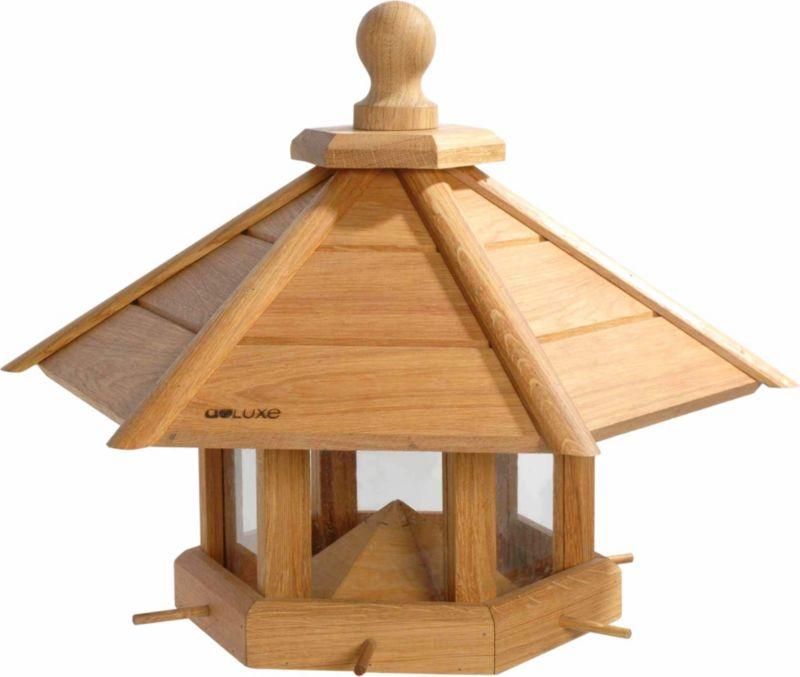 Sehr großes Eiche Vogelhaus ´´Anflug´´, geöltes...