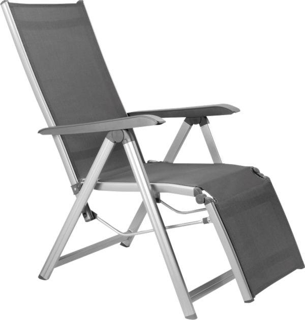kettler relaxsessel basic plus klappsessel gartensessel relaxliege relaxstuhl ebay. Black Bedroom Furniture Sets. Home Design Ideas