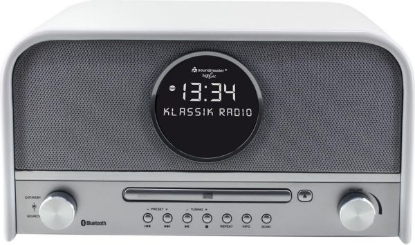 soundmaster nr850 top nostalgie stereo dab radio mit cd. Black Bedroom Furniture Sets. Home Design Ideas
