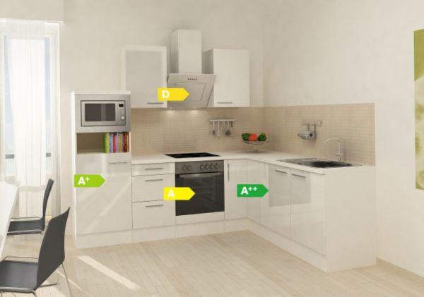 Details zu Respekta Premium Winkelküche RP260WWCMIS 260 x 200cm Weiß,  Küchen, Küche