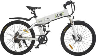 LLobe Alu Elektro Mountain Faltrad 26 Zoll Sport, 7 Gang Shimano-Schaltung