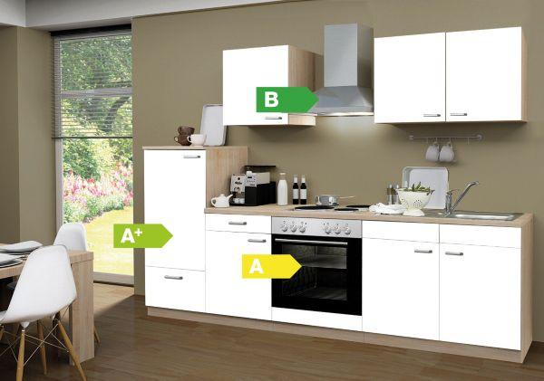 Menke Küchen Küchenzeile Classic 270 cm, Küchenblock, Küche ...