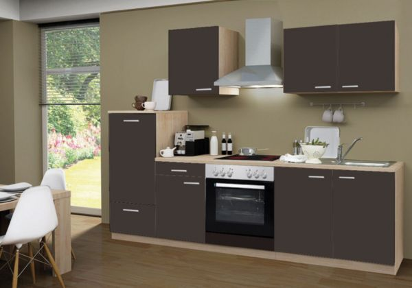 menke k chen k chenzeile classic 270 cm k chenblock. Black Bedroom Furniture Sets. Home Design Ideas