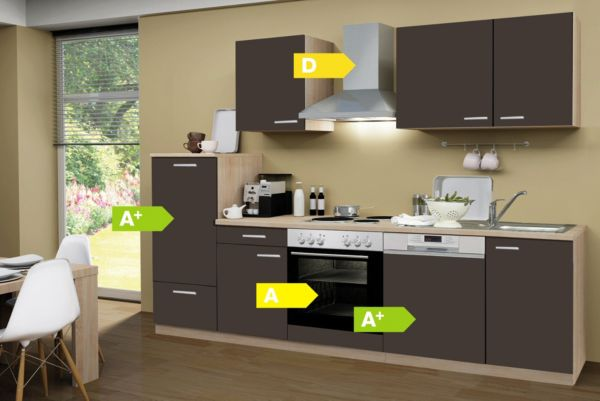 Menke Küchen Küchenzeile Classic 280 cm Küchenblock