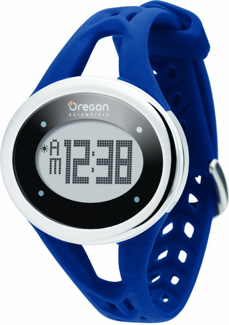 Oregon Scientific SE336M Sport-Uhr in blau