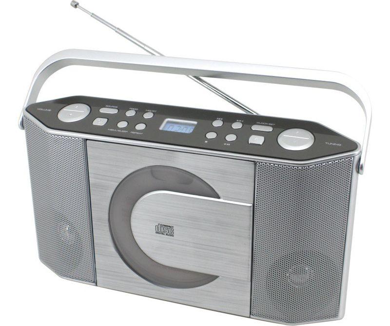 Soundmaster RCD1750SI Stereo UKW/CD PLL-Kofferr...