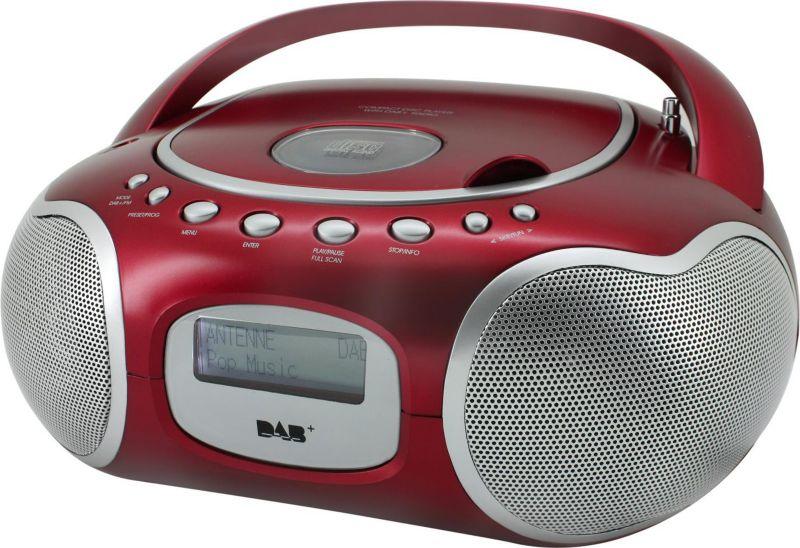 Soundmaster SCD4200RO Stereo-PLL-DAB+ Radio mit...