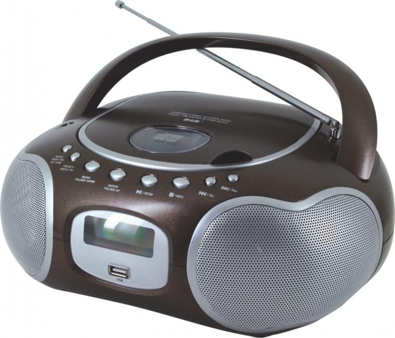 Soundmaster SCD4200BR Stereo-PLL-DAB+ Radio mit...