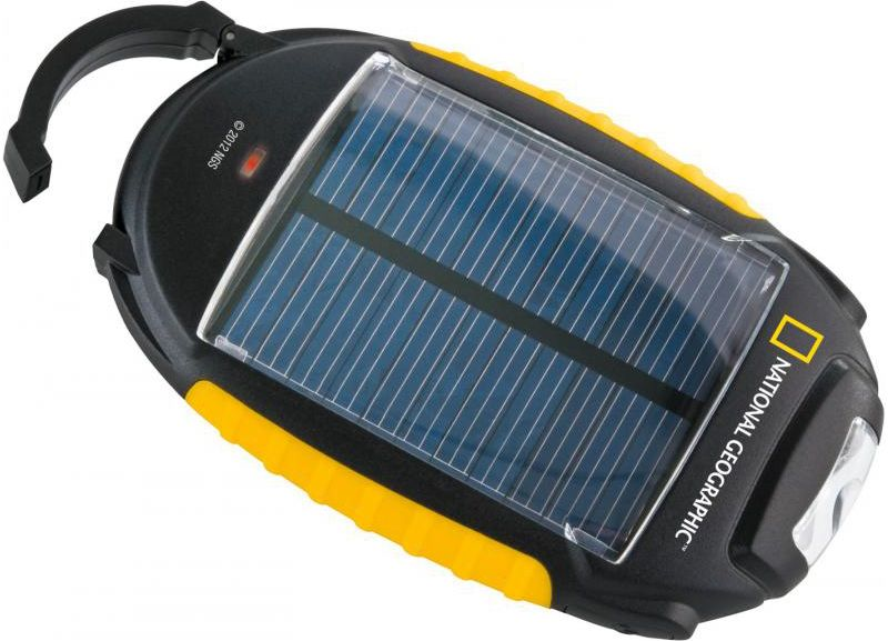 National Geographic Solar Ladegerät 4 in 1