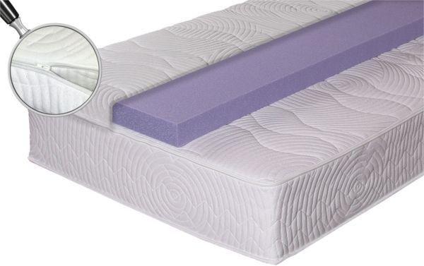 winkle taschenfederkernmatratze mit topper spring gel 7 zonen matratze gel ebay. Black Bedroom Furniture Sets. Home Design Ideas