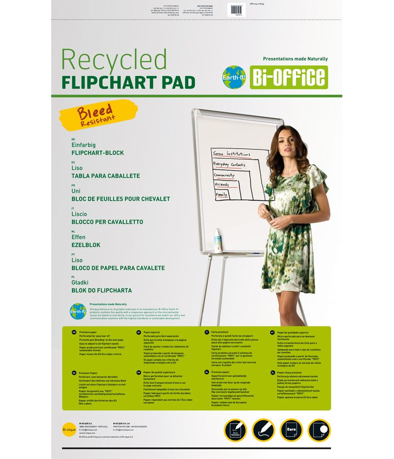 Bi-Office Earth Flipchartblock