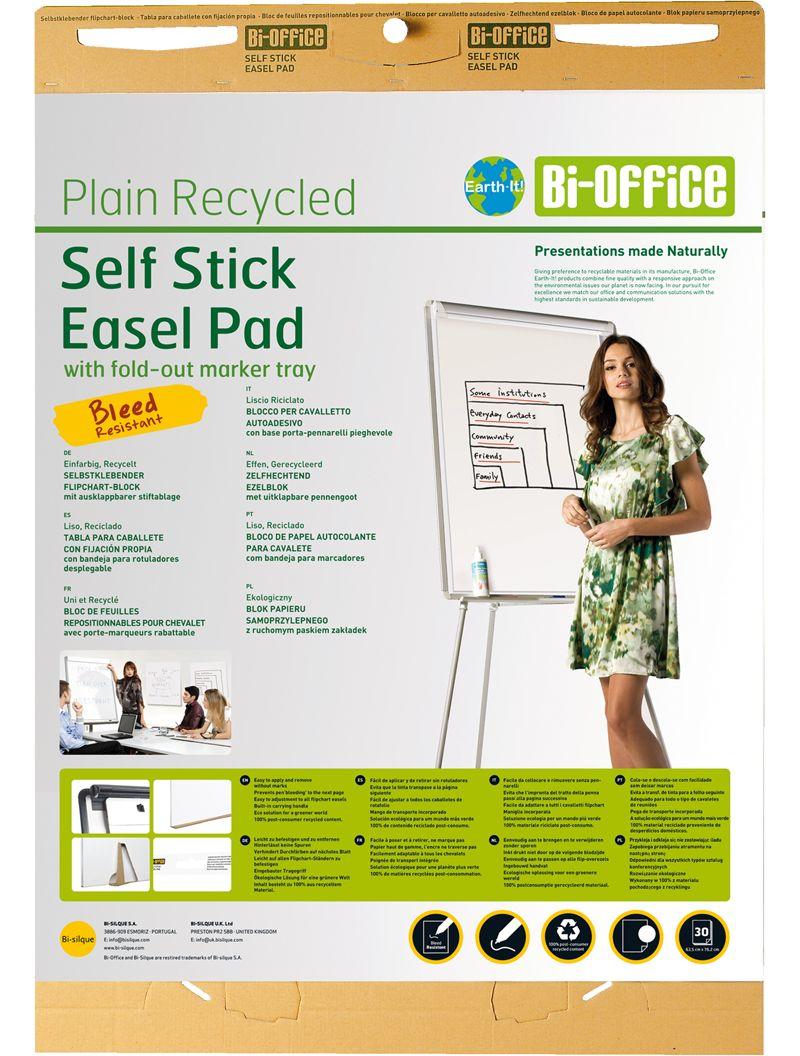 Bi-Office Earth Selbstklebender Flipchartblock