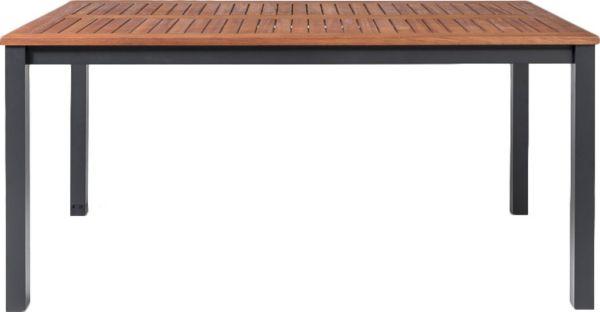 Alu Gartentisch Mit Holzplatte Gartentisch Gartenesstisch