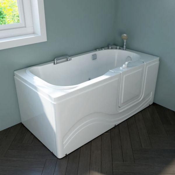 Details zu Home Deluxe Vital Seniorenbadewanne, versch. Ausführungen  Badewanne Bad Wanne