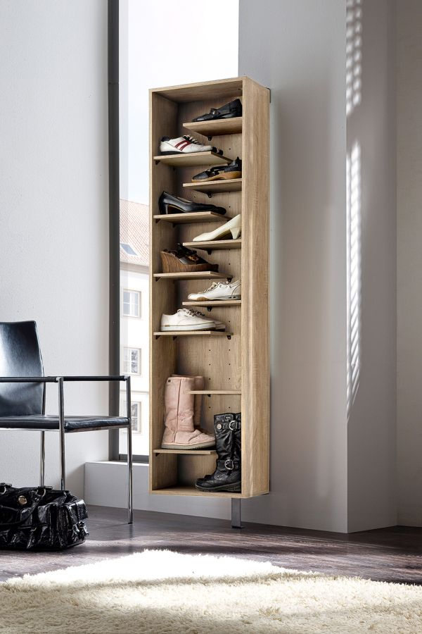 schuhschrank woody mit garderobe versch farben. Black Bedroom Furniture Sets. Home Design Ideas