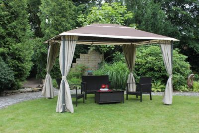 anbaupergola metall pavillon online bei. Black Bedroom Furniture Sets. Home Design Ideas