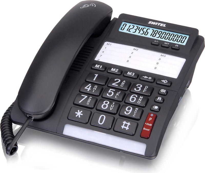 Switel TF535 Komfort-Telefon mit großen Tasten