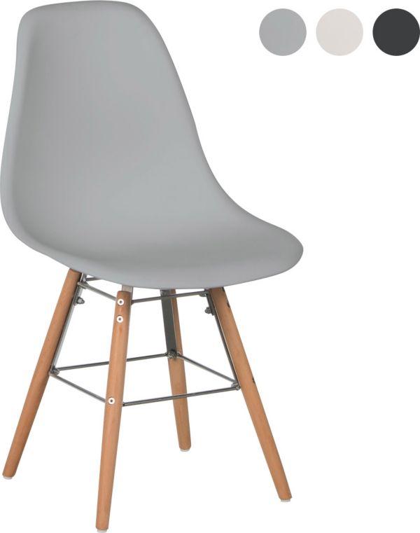 schalenstuhl rivoli 2er set stuhl schale buche esszimmerstuhl retro design ebay. Black Bedroom Furniture Sets. Home Design Ideas