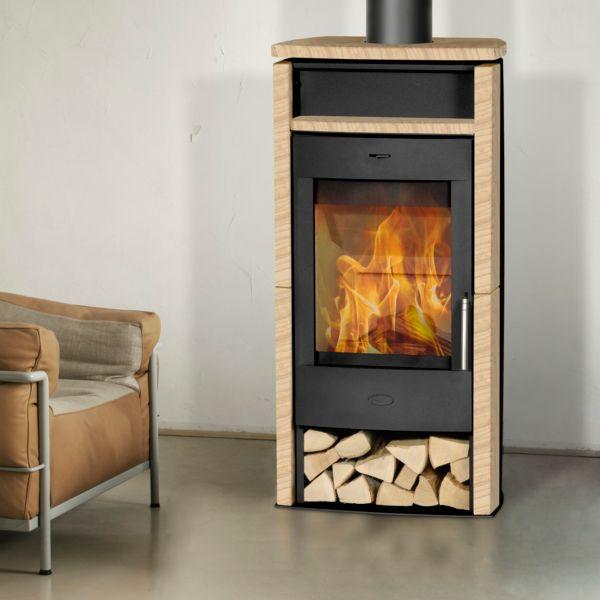 fireplace kaminofen santiago sandstein ofen schwedenofen indoorkamin kamin ebay. Black Bedroom Furniture Sets. Home Design Ideas