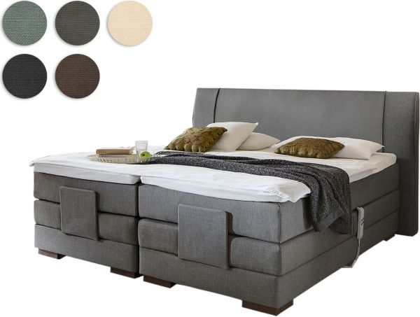 crown boxspringbett brisbane plus schwedenbett. Black Bedroom Furniture Sets. Home Design Ideas