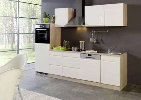Held Möbel Küchenleerblock Cardiff 280 cm, Küchenzeile, Küchenblock ...