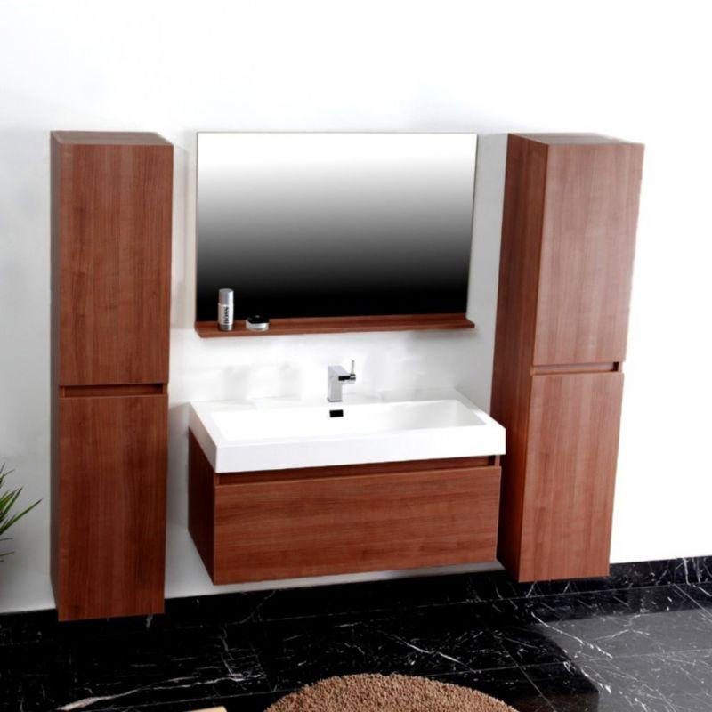 Benedomi Badezimmer Set P1003 Mahagoni
