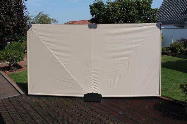 leco mobiler sichtschutz windschutz sonnenschutz paravent gartensichtschutz ebay. Black Bedroom Furniture Sets. Home Design Ideas