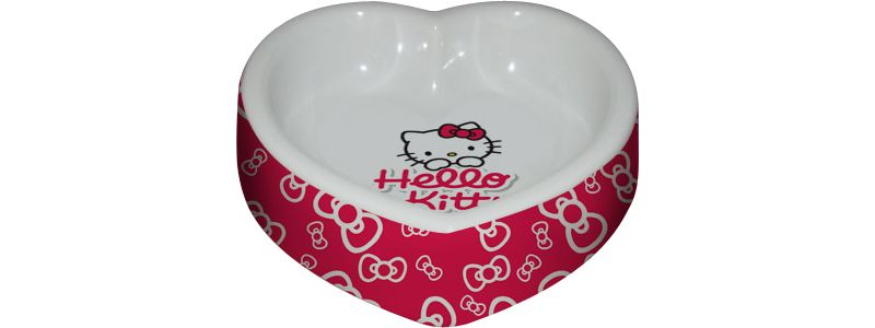 Heim Katzen-Napf-Set ´´Hello Kitty´´ 250 ml