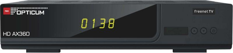 Opticum AX 360 Freenet TV DVB-T2 HD Receiver - ...