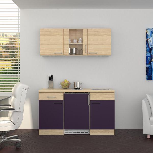 flex well k chenzeile 150 cm g 150 1001 022 k chenblock einbauk che k che ebay. Black Bedroom Furniture Sets. Home Design Ideas