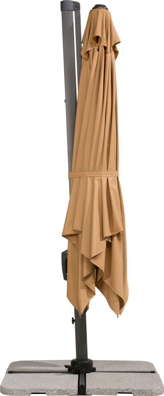 schneider ampelschirm rhodos twist sonnenschirm. Black Bedroom Furniture Sets. Home Design Ideas