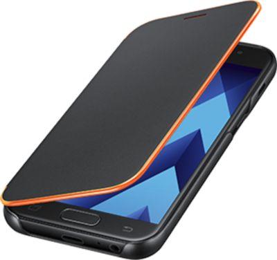 Samsung Neon Flip Cover EF-FA320 für Galaxy A3 (2017), Schwarz