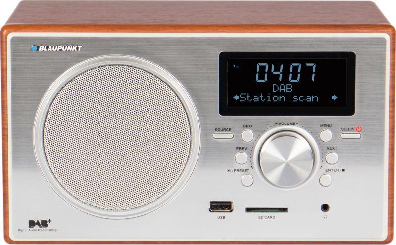 Blaupunkt Digitalradio mit USB & SD RXD 35 - braun