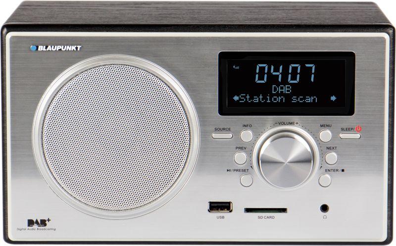 Blaupunkt Digitalradio mit USB & SD RXD 35 BK -...