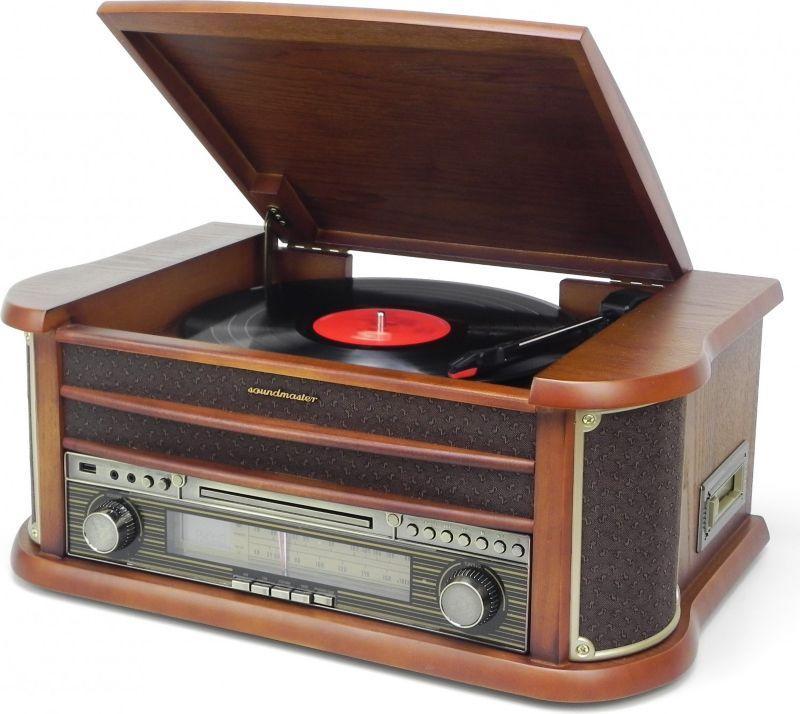 Soundmaster NR540 Nostalgie Stereo-Musikcenter ...