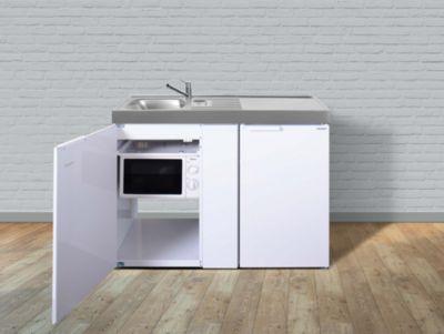 Stengel Küchen Kitchenline MKM 120 weiß - Teepantry rechts
